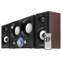 Колонки 2.1 CROWN CMBS-361 16W+10W*2 (RMS), Bluetooth, FM/USB/IR пульт