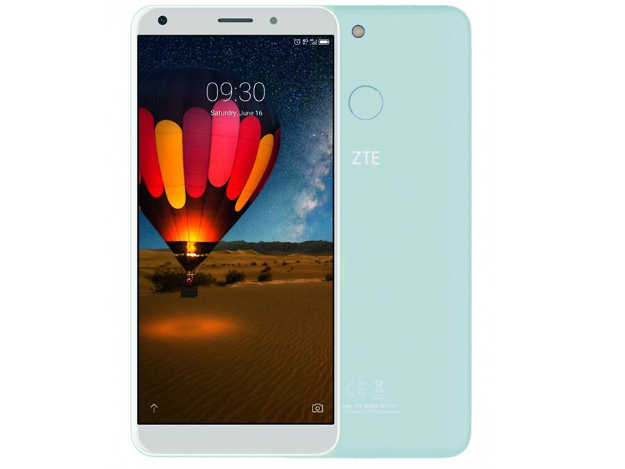 Смартфон ZTE Blade V9 vita mint (3Gb/32Gb/NFC/And8,1)