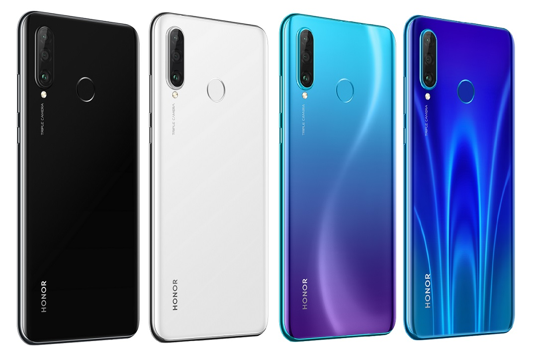 Смартфон HUAWEI Honor 20 Lite White