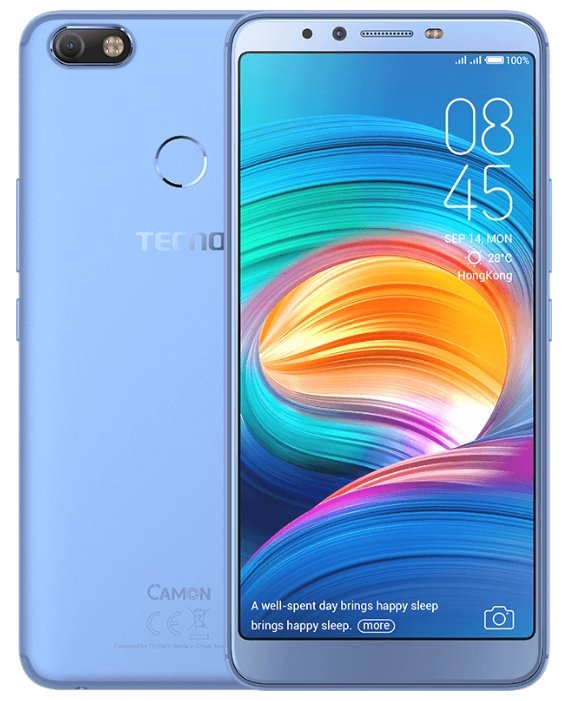 Смартфон TECNO Camon X (CA7) City Blue/голубой